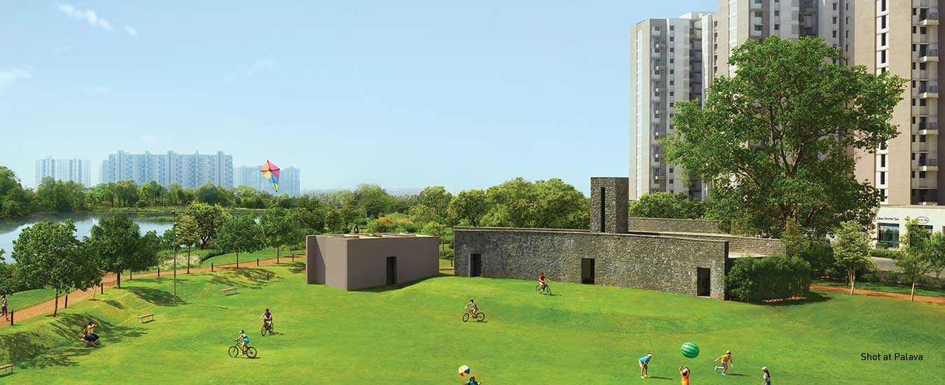 Lakeshore Greens - 1, 2 and 3 BHK Flats at Palava near Dombivili by